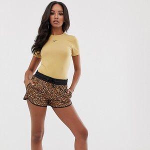 Nike NSW leopard print shorts